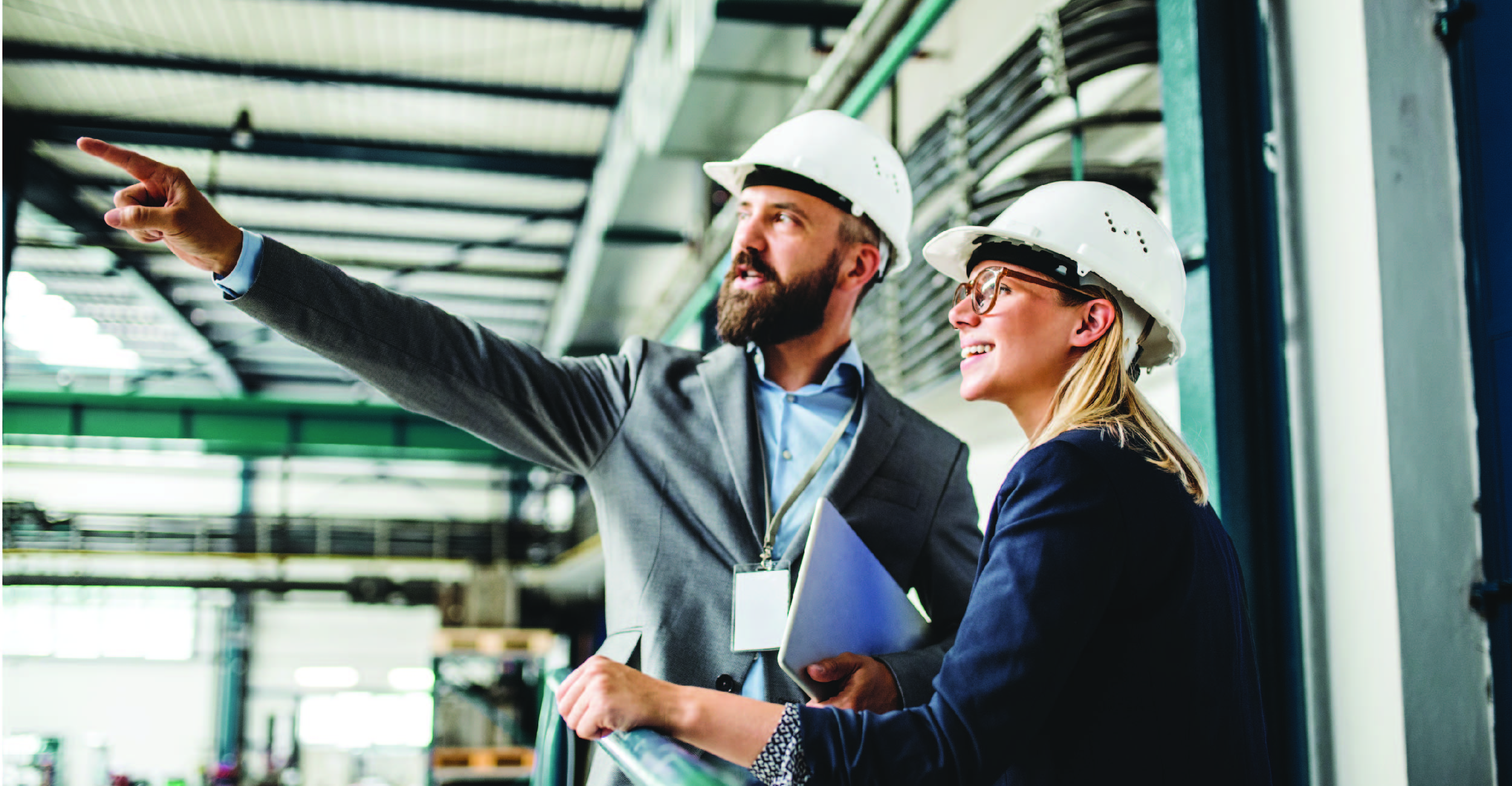 Complicated Supply Chain Scenarios Where VAT is Charged | Man and Woman in hard hats